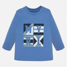 Mayoral Infant Boys Long Sleeved T-Shirt - Blue