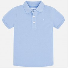Mayoral Kids Boys Polo Shirt - Sky