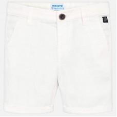Mayoral Kids Boys Chino Shorts - White