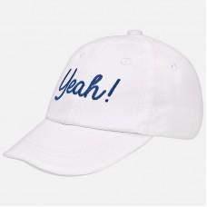 ~Mayoral Infants Baseball Cap - White
