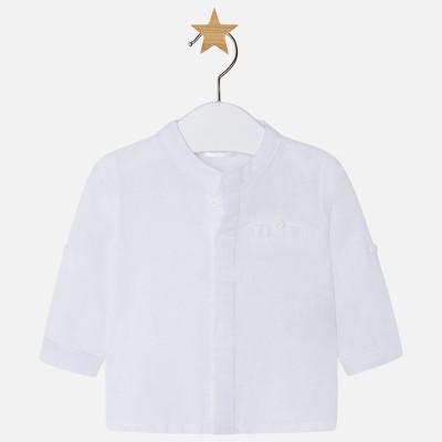 ~Mayoral Baby Boys Grandad Shirt - White