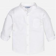 ~Mayoral Infant Boys Grandad Shirt  - White