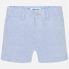 ~Mayoral Infant Boys Twill Shorts - Sky