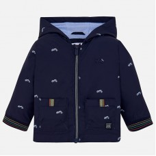Mayoral Infant Boys Hooded Jacket - Navy