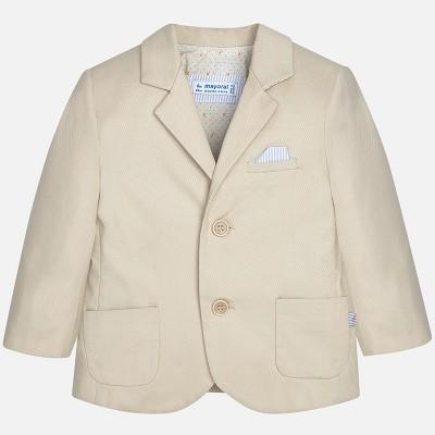 ~Mayoral Infant Boys Formal Jacket - Beige