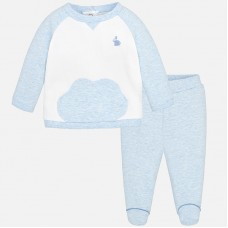Mayoral Baby Boys Leisure Suit - Sky