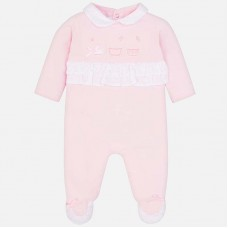 a6fe8a5fc41a Mayoral Baby Girls Romper Pyjamas - Pink