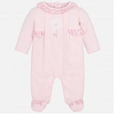 Mayoral Baby Girls Romper Pyjamas - Pink