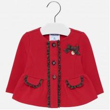 Mayoral Infant Girls Dress Jacket - Red