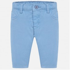 Mayoral Baby Boys Cotton Trousers - Sky