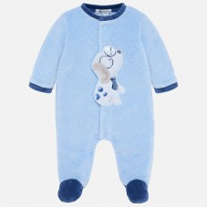 Mayoral Baby Boys Puppy Pyjamas - Blue
