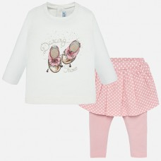 Mayoral Infant Girls Two Piece - Pink