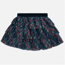 ~Mayoral Infant Girls Tulle Skirt - Checked