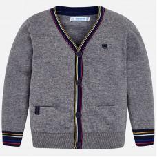 ~Mayoral Kids Boys Cardigan - Grey