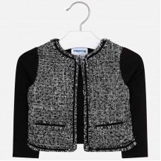~Mayoral Kids Girls Combined Jacket - Black