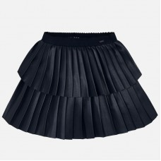 ~Mayoral Kids Girls Pleated Skirt - Navy