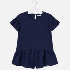 Mayoral Junior Girls Playsuit - Navy