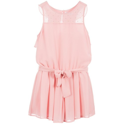 7d69fdc8503 Mayoral Junior Girls Chiffon Playsuit - Blush