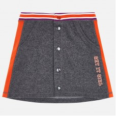 ~Mayoral Junior Girls Jersy Skirt - Grey