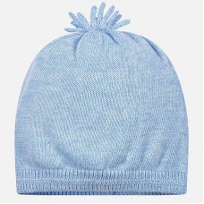 Mayoral Baby Boys Knitted Hat - Sky
