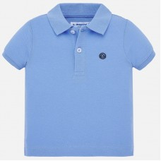 Mayoral Infant Boys Polo - Pale Blue