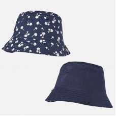 Mayoral Infant Boys Reversible Hat - Navy