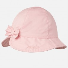 Mayoral Infant Girls Hat with Bow - Pink