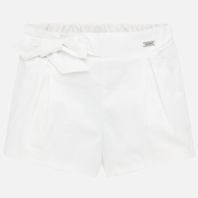 ~Mayoral Infant Girls Short - Cream