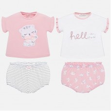 Mayoral Baby Girls 2 Pack Sets - Mix