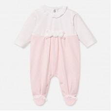 Mayoral Baby Girls Sleepsuit - Pink