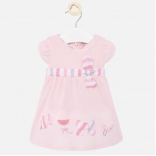 Mayoral Baby Girls Dress - Pink