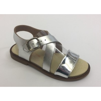 ~Andanines Girls Sandal - Silver