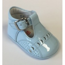 Anadanines Baby Boys Crib Boot - Pale Blue