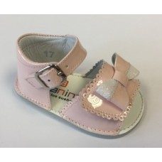 Andanines Girls Bow Sandle - Pink