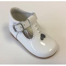 Andanines Girls Heat Boot - White