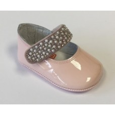 Andanines Baby Girls Soft Sole Shoe - Pink