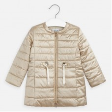 ~Mayoral Kids Girls Jacket - Gold