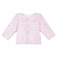 ~3Pommes Infant Girls Reversible Jacket - Pink/White