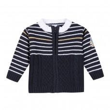 ~3Pommes Infant Boys Cardigan - Navy