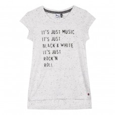 ~3Pommes Kids Girls T-Shirt - White