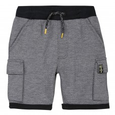 ~3Pommes Kids Boys Fleece Shorts - Grey