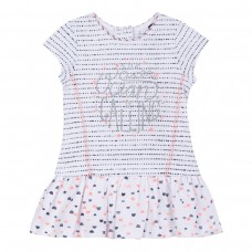 ~3Pommes Infant Girls Summer Dress - Pink