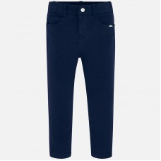 ~Mayoral Kids Girls Trouser - Navy