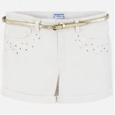 Mayoral Junior Girls Short - Cream