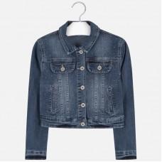 Mayoral Junior Girls Denim Jacket - Denim