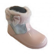 ~Andanines Girls Ankle Boot - Pink