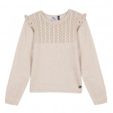~3Pommes Kids Girls Jumper - Gold