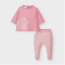 Mayoral Baby Girls Knitted Set - Pink