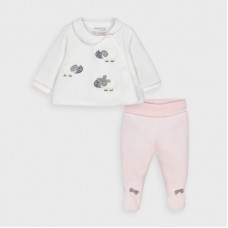 Mayoral Baby Girls 2 Piece Valour Set - Pink
