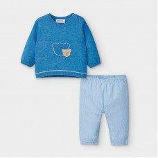 Mayoral Baby Boys Jumper & Trouser Set - Blue